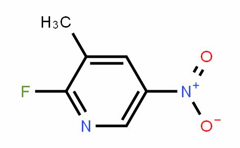 2-Fluoro-5-nitro-3-methylpyridine