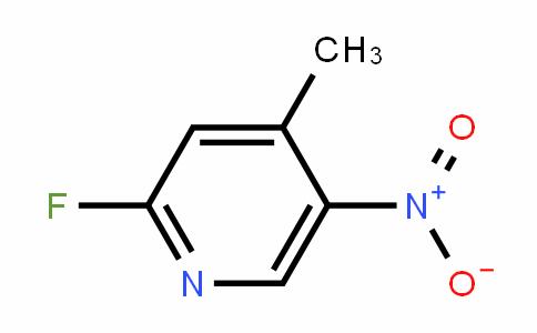 2-氟-4-甲基-5-硝基吡啶