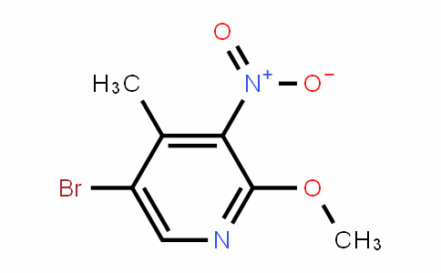 5-Bromo-2-methoxy-4-methyl-3-nitropyridine