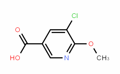 3-Chloro-5-carboxy-2-methoxypyridine