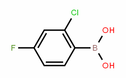 2-Chloro-4-fluoroPhenylboronic acid