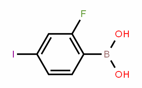 2-氟-4-碘-苯硼酸