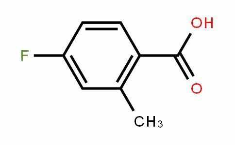 4-Fluoro-2-methylbenzoicacid
