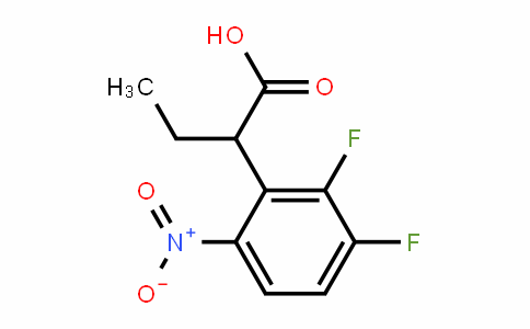Ethyl 2,3-difluoro-6-nitrophenylacetic acid