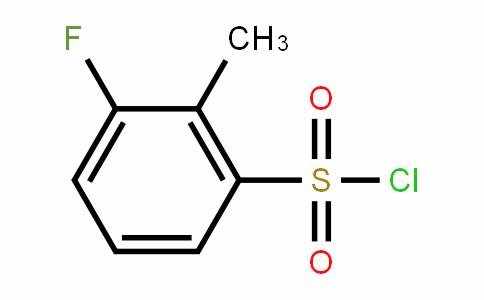 3-Fluoro-2-methylBenzenesulfonylchloride