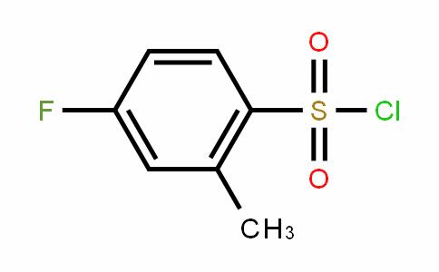 4-Fluoro-2-methylBenzenesulfonylchloride