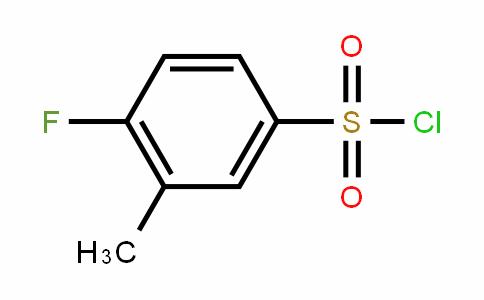 4-Fluoro-3-methylBenzenesulfonylchloride