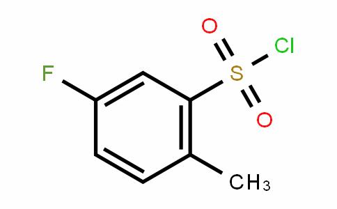 5-Fluoro-2-methylbenzenesulfonylchloride