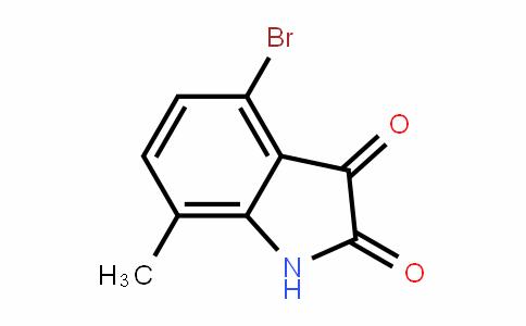 4-溴-7-甲基靛红