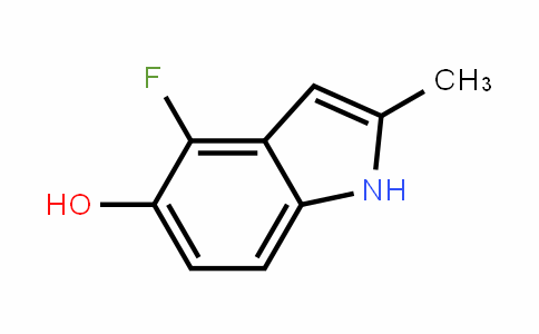 4-Fluoro-5-hydroxy-2-methylindole