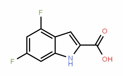 4,6-Difluoro-2-carboxy Indole