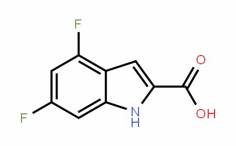 4,6-二氟吲哚-2-羧酸