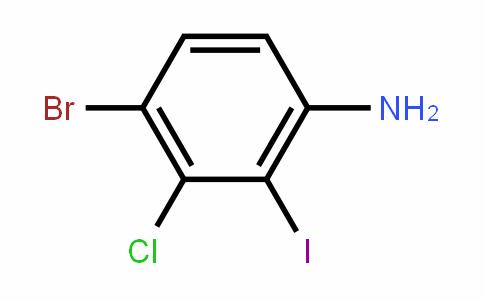 4-Bromo-3-chloro-2-iodoaniline