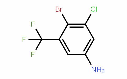 4-Bromo-3-chloro-5-(trifluoromethyl)aniline