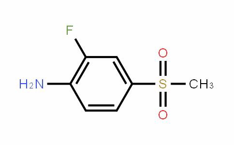 2-Fluoro-4-methylsulfonyl aniline