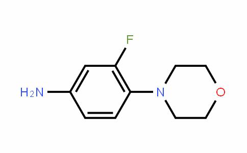 3-Fluoro-4-morpholinylaniline