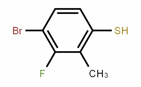 4-Bromo-3-fluoro-2-methylthiophenol