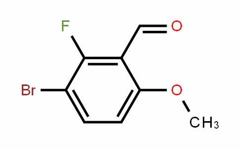 3-Bromo-2-fluoro-6-methoxybenzaldehyde