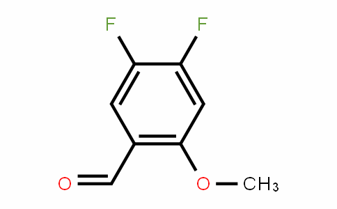 4,5-Difluoro-2-methoxybenzaldehyde