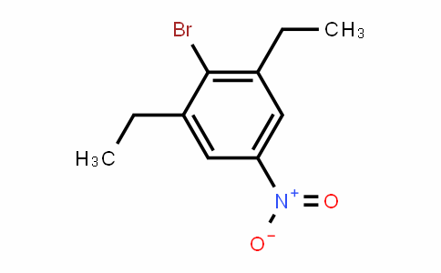 4-bromo-3,5-diethylnitrobenzene