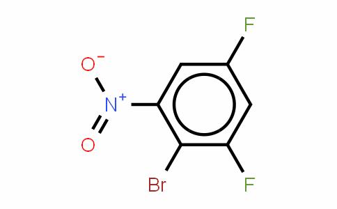 2-溴-3,5-二氟硝基苯