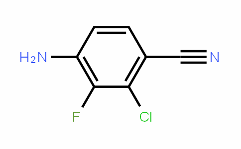 4-Amino-2-chloro-3-fluorobenzonitrile