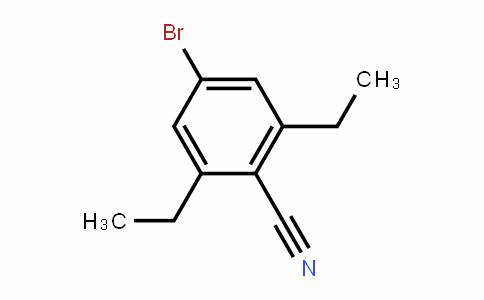 4-Bromo-2,6-diethylbenzonitrile