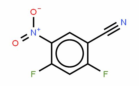 2,4-Difluoro-5-ntirobenzonitrile