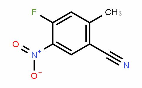 4-Fluoro-5-nitro-2-methylbenzonitrile