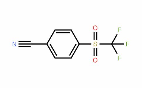 4-(三氟甲基磺酰基)苯甲腈
