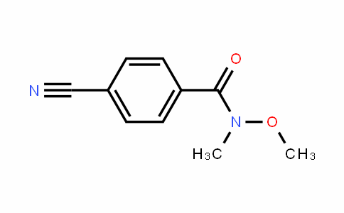 4-Cyano-N-methoxy-N-methylbenzamide