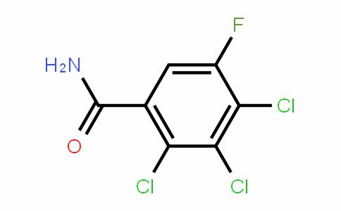 5-Fluoro-2,3,4-trichlorobenzamide