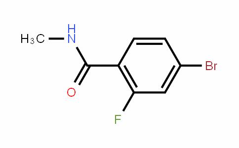 N-methyl-4-bromo-2-fluorobenzamide