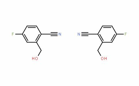 2-Cyano-5-fluorobenzyl alcohol [4-Fluoro-2-hydroxymethylbenzonitrile]