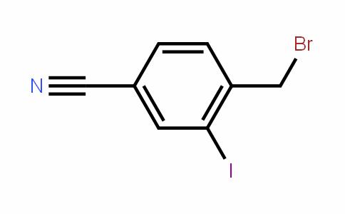 4-Cyano-2-iodobenzyl bromide