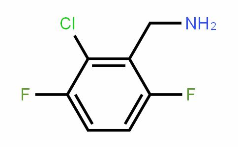 2-Chloro-3,6-difluorobenzylamine