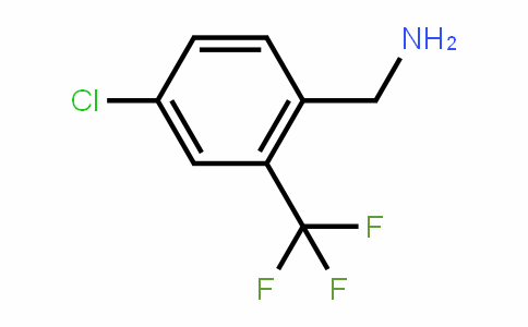4-Chloro-2-(trifluoromethyl)benzylamine