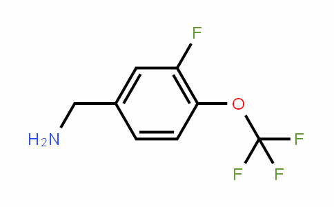 3-Fluoro-4-(trifluoromethoxy)benzylamine