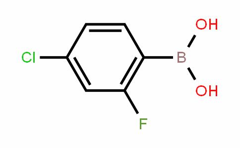 4-Chloro-2-fluorophenylboronic acid