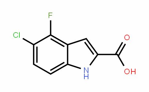 5-chloro-4-fluoroindole-2-carboxylic acid