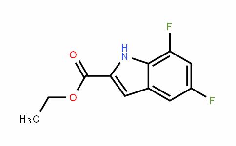 5,7-Difluoroindole-2-carboxylic acid ethyl ester