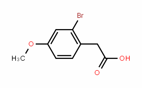 2-Bromo-4-methoxyphenylacetic acid