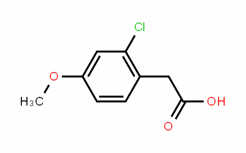 2-Chloro-4-methoxyphenylacetic acid