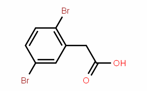 2,5-Dibromophenylacetic acid