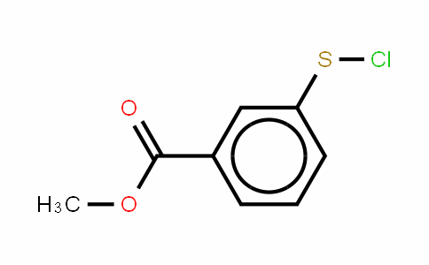 Methyl 3-chlorosulphenyl benzoate