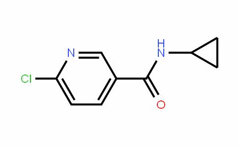 6-Chloro-N-cyclopropylpyridine-3-carboxamide