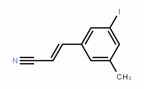 3-Iodo-5-methylcinnamonitrile