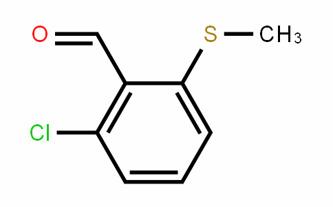 2-chloro-6-(methylthio)benzaldehyde