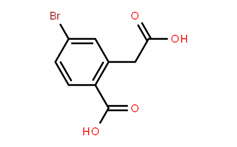 4-bromo-2-(carboxymethyl)benzoic acid