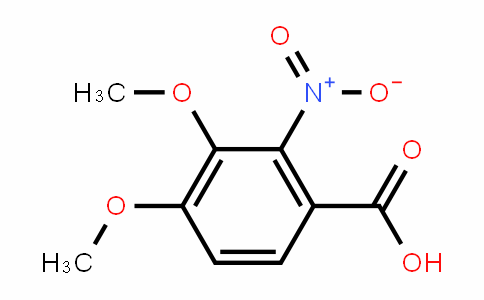 3,4-dimethoxy-2-nitrobenzoic acid